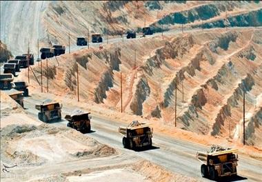 باربری معدن سنگ آهن چادرملو