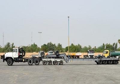 کامیون حمل بار ترافیکی