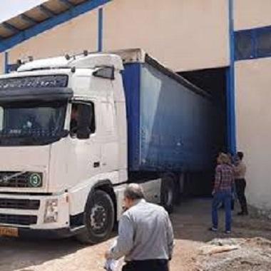 باربری کامیون شهریار
